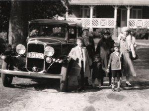 De Chevrolet van Van Ginneken was een van de vermiste auto's (collectie Hoedelmans)