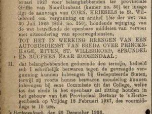 Bron: De Grondwet, 31 dec. 1926