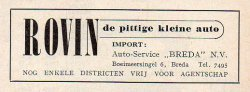 Advertentie, 1951