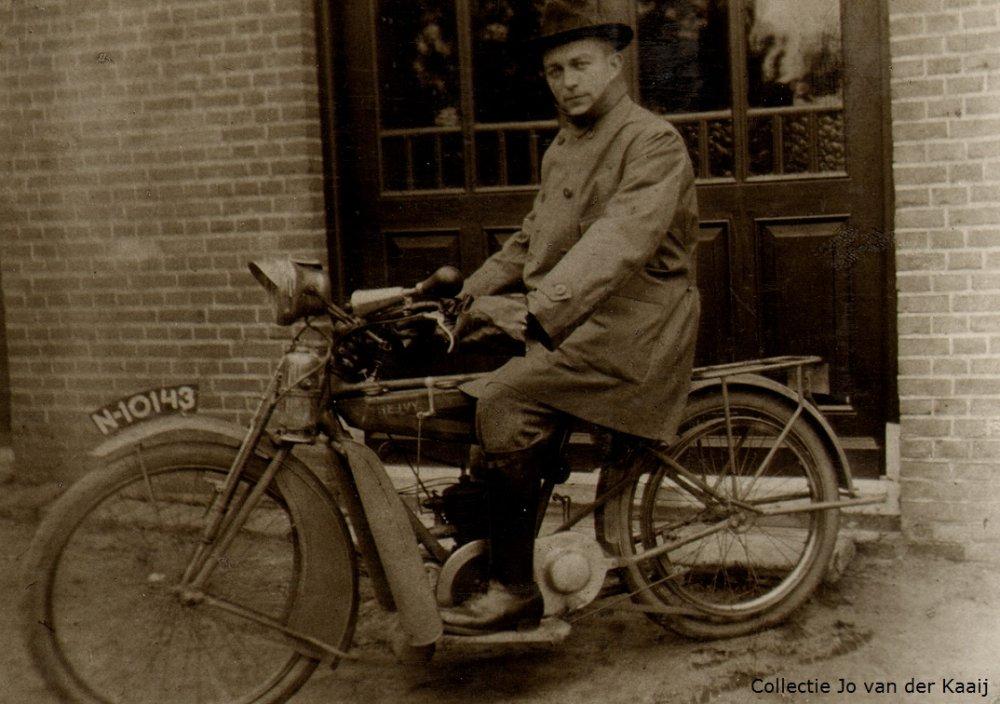 Ivy tweetakt motor. Sint-Oedenrode, 1925.