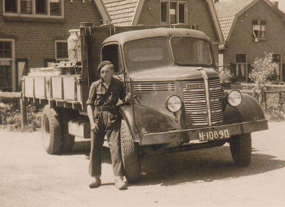Bedford vrachtwagen, 1951.