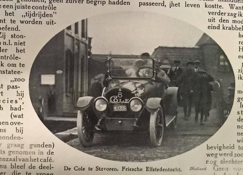 Cole, 1916 (bron: Auto-leven, 1916)