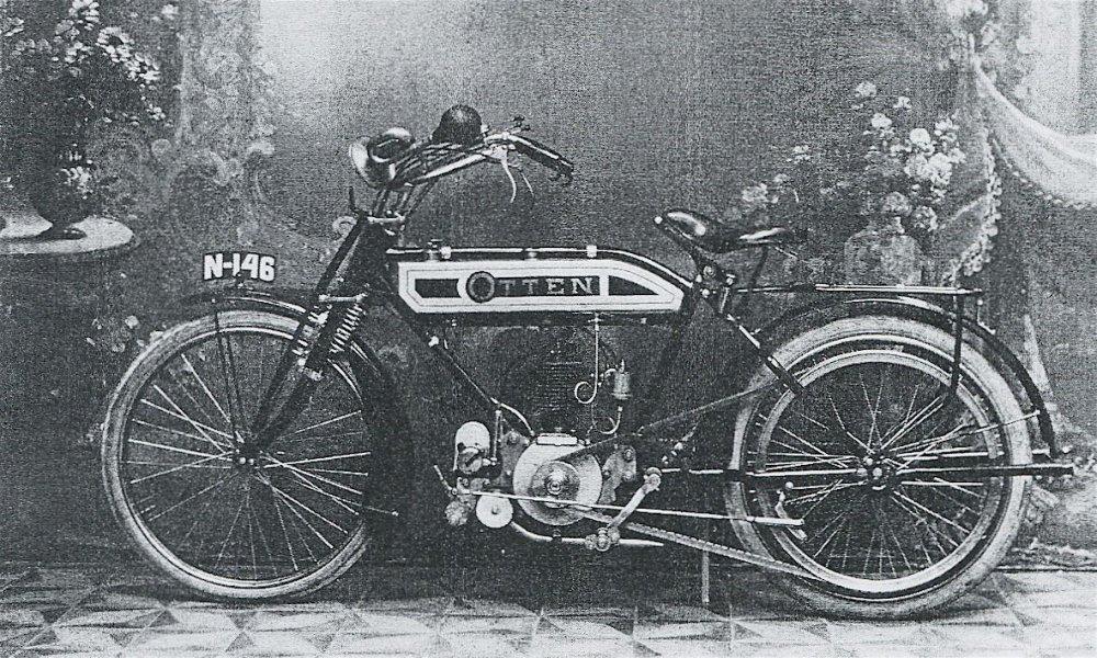Otten met Fafnir-motor, c. 1913