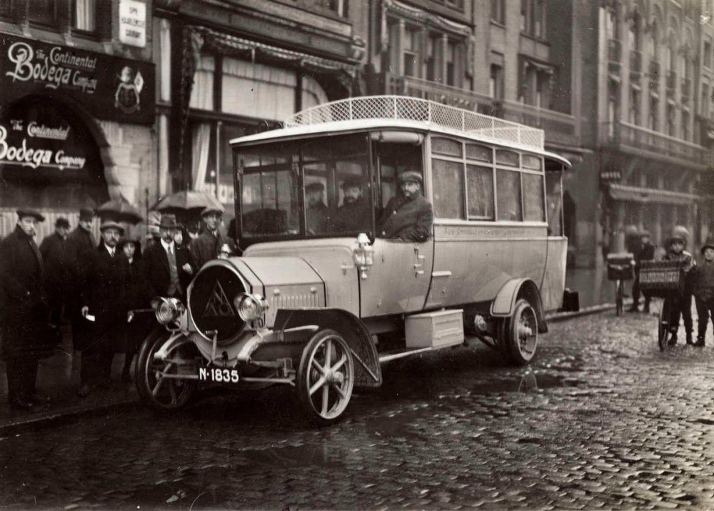 NAG Autobus, c. 1920.