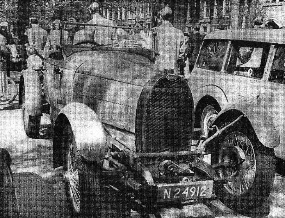 De Bugatti van Bouvy (Collectie D.A. Ploeg)