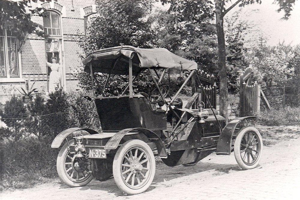 N-375 Sizaire-Naudin, 1910 (Collectie J. Verdijsseldonck)
