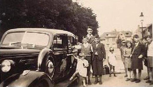 Bij vertrek naar Indonesië (1939)