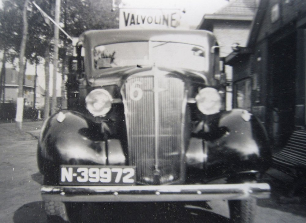 Chevrolet, 1937.