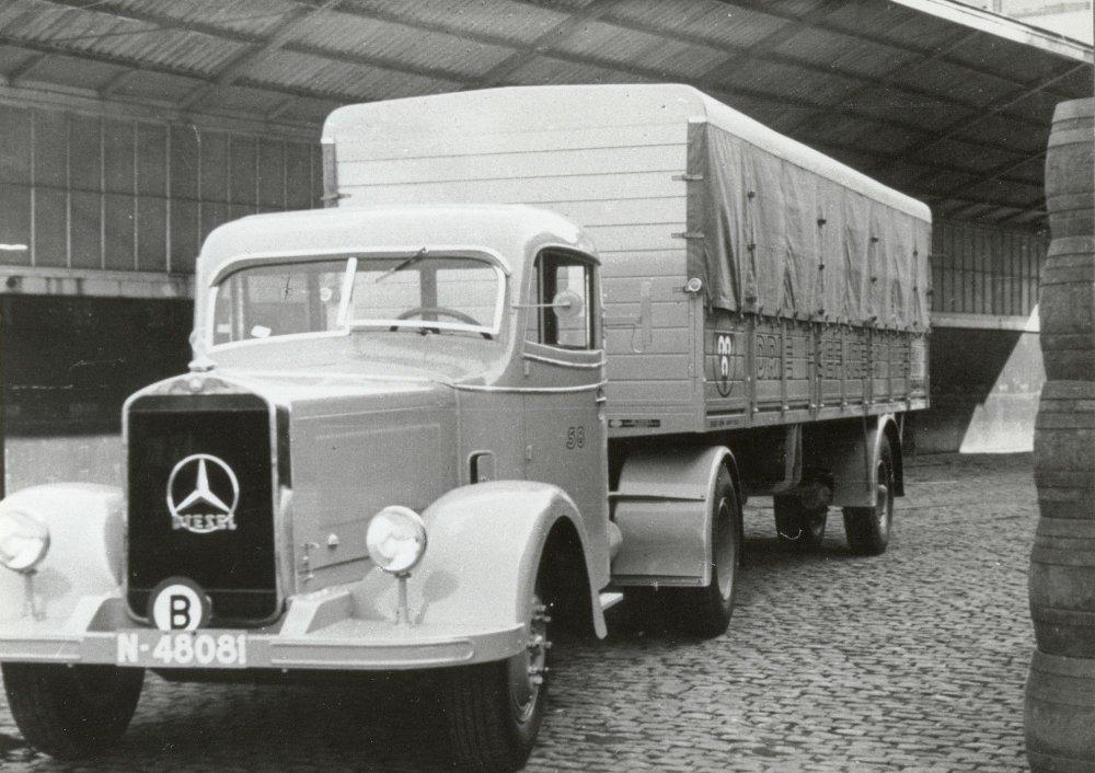 Mercedes vrachtwagen, 1940.