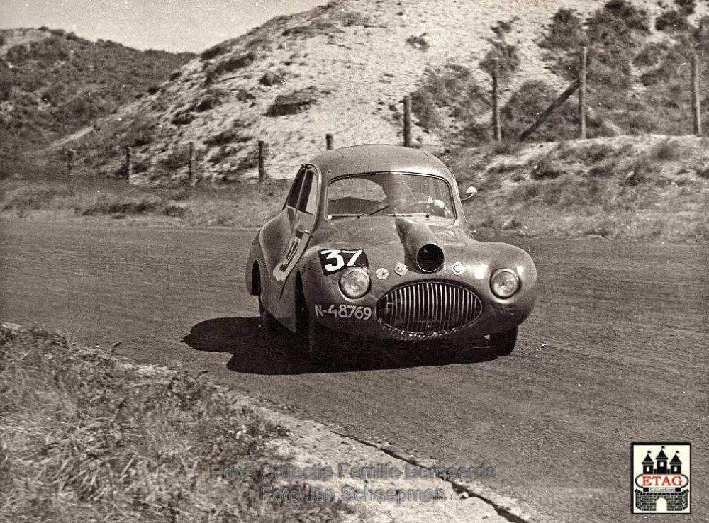 Gatso Coupe 4000 2+2 1948, 'Molshoop' (Foto: © J. Schaepman, collectie Bernaards)