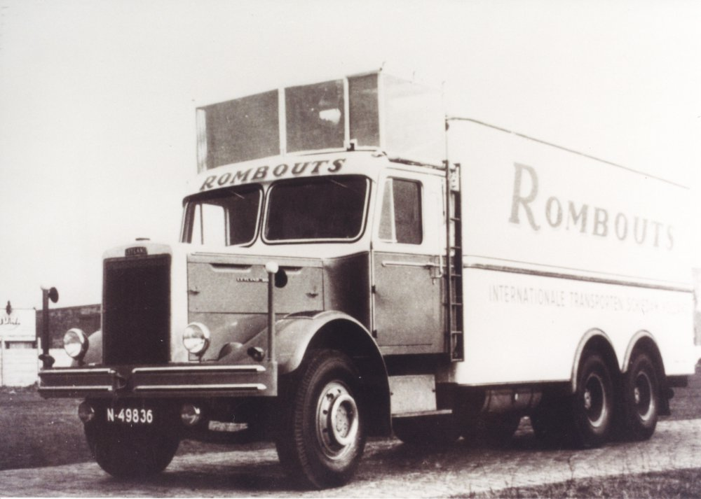 Leyland koelwagen, c. 1950 (coll. A. v.d. Mierden)