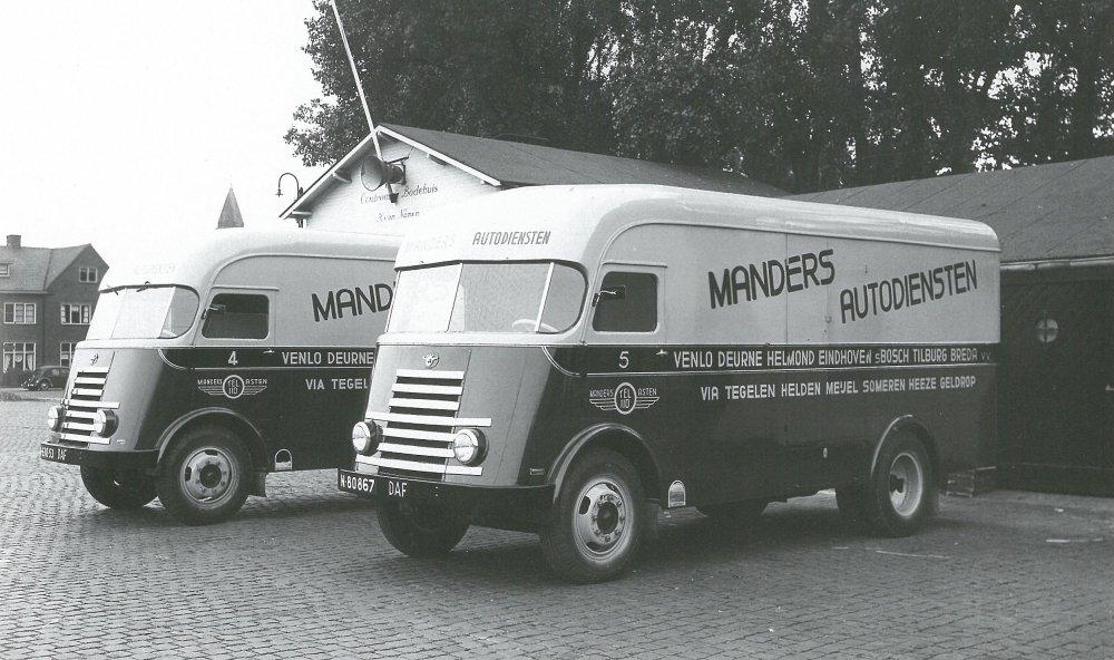 DAF truck, 1950