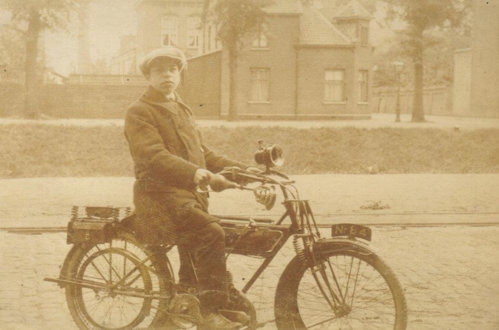 Sparkbrook motorfiets, 1916.