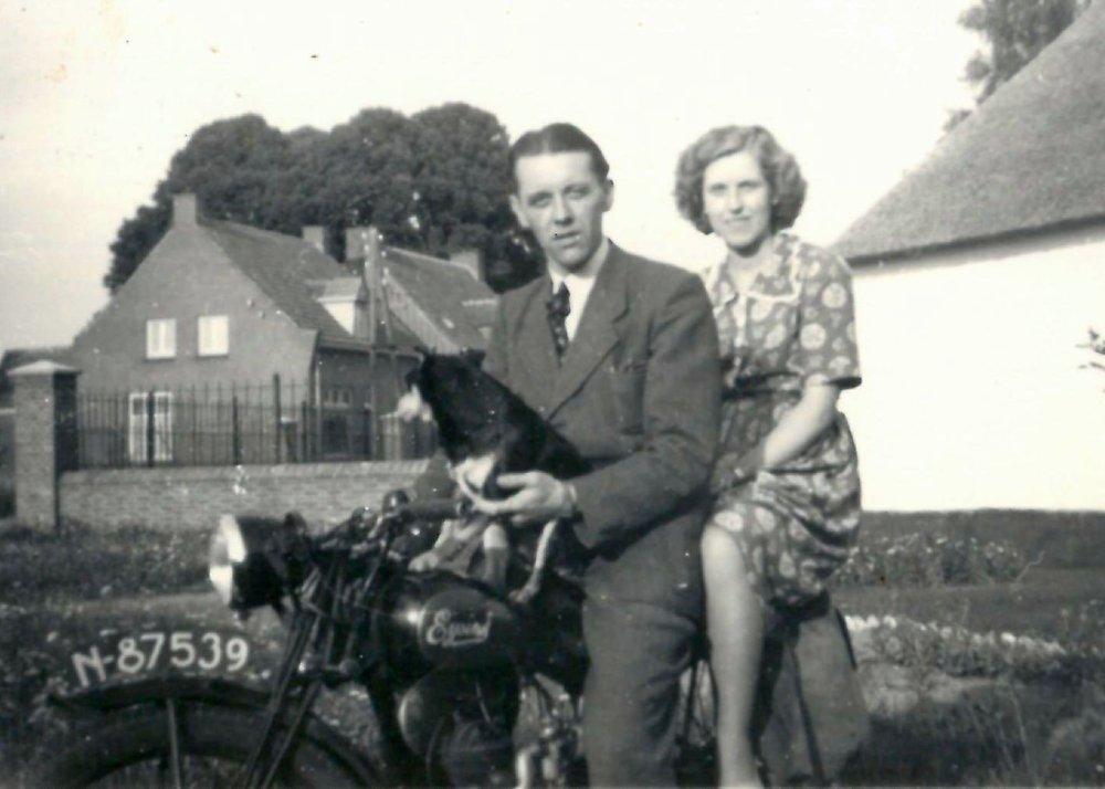 Eysink motor, c. 1950.