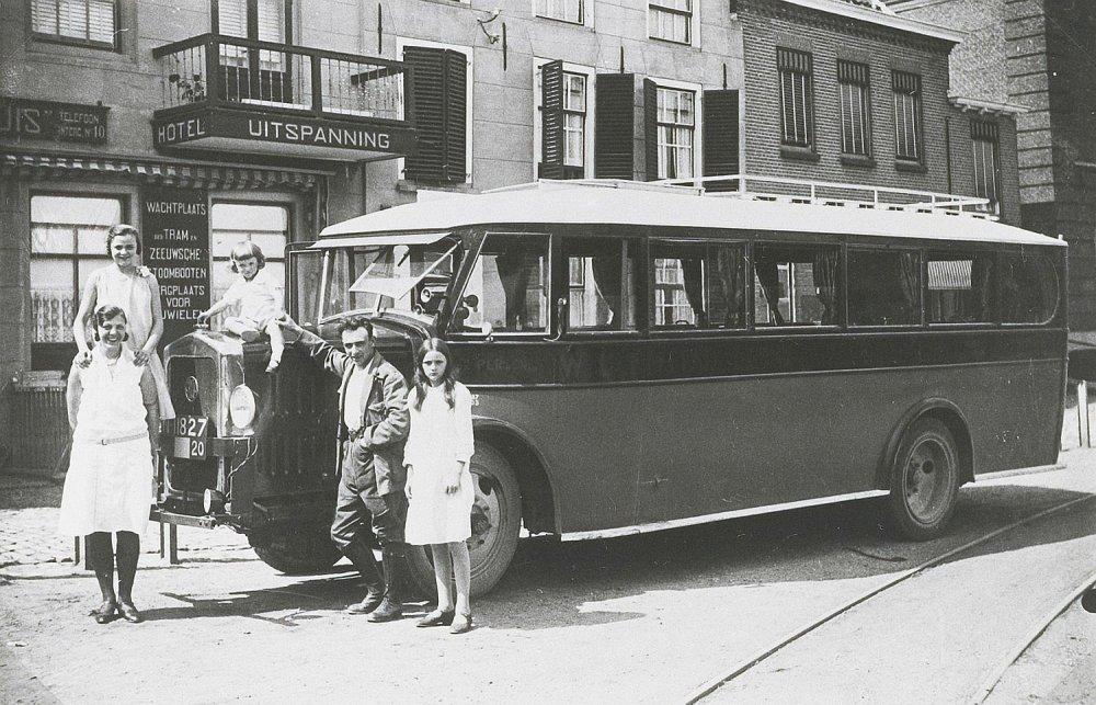 Willemstad, 1930 (collectie West-Brabants Archief)