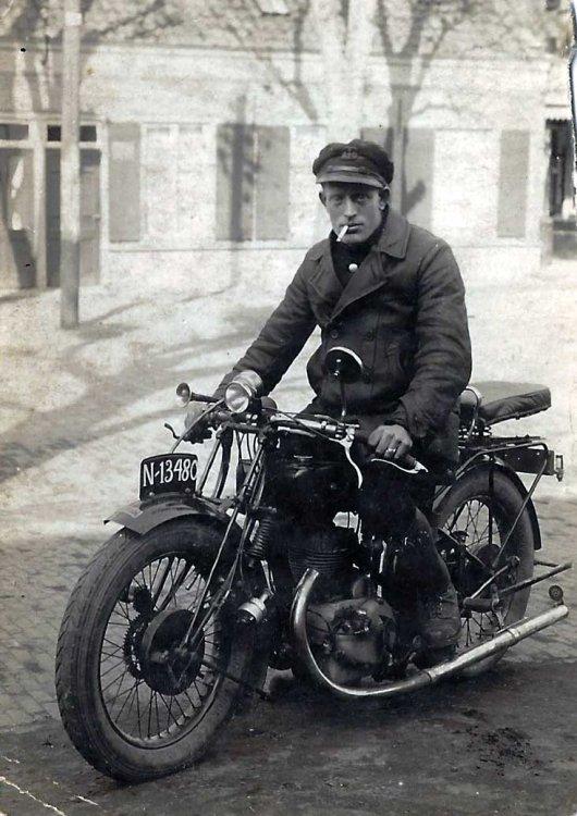 """FN 350 cc zijklep """"Sahara"""" (collectie Van den Berg)"""