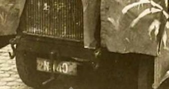 N-140 FWD truck (collectie West-Brabants Archief)
