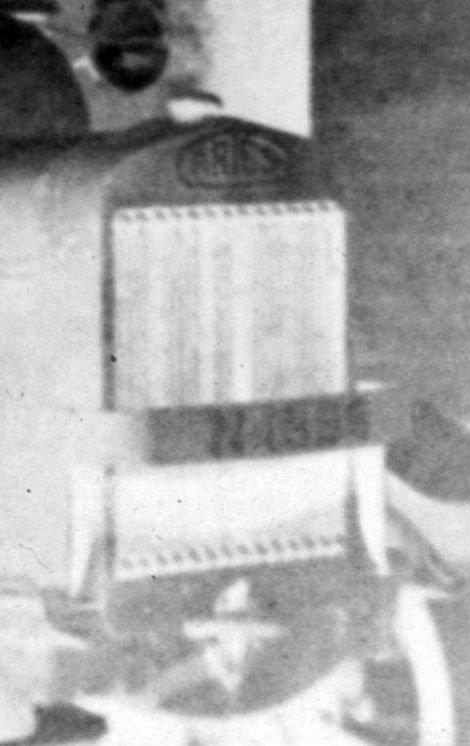 Detail (negatief) van foto 1