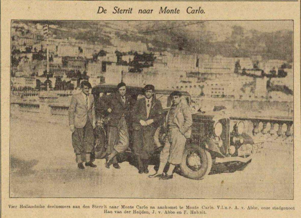 N-29794 Bron: Haagsche Courant, 2 februari 1933