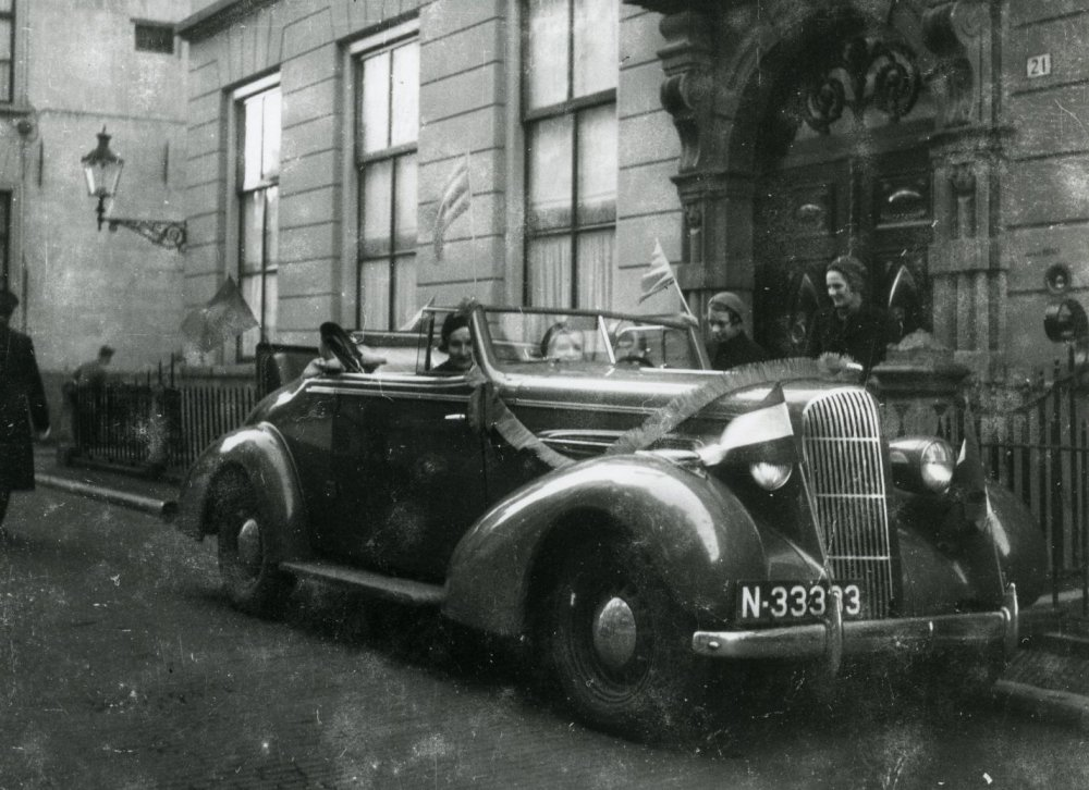 Oldsmobile (Foto: A. Boin; Collectie Stedelijk Museum Breda)