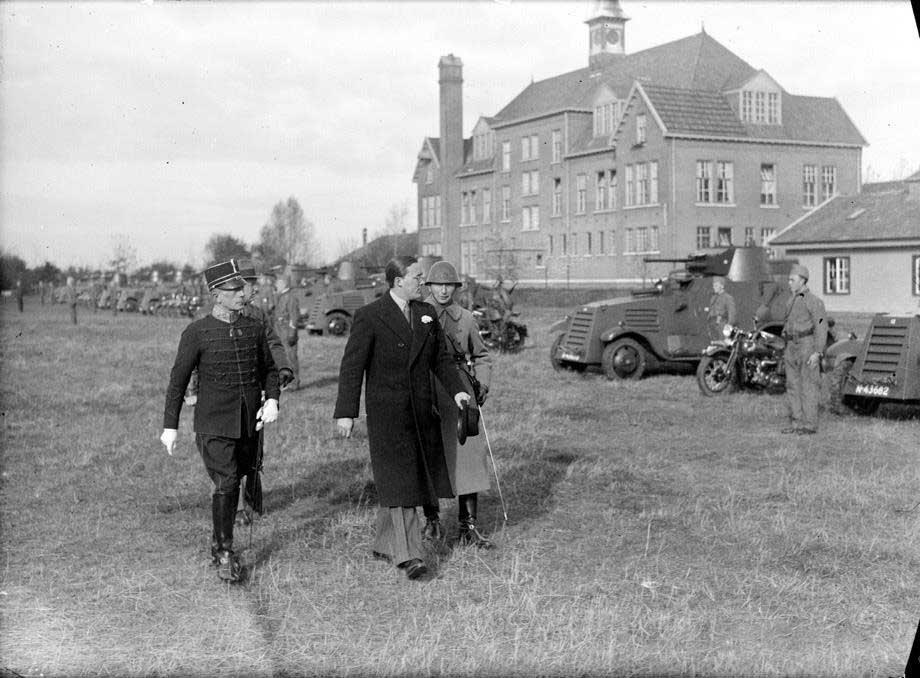 Prins Bernhard in Den Bosch, 1936 (Erfgoed 's-Hertogenbosch)