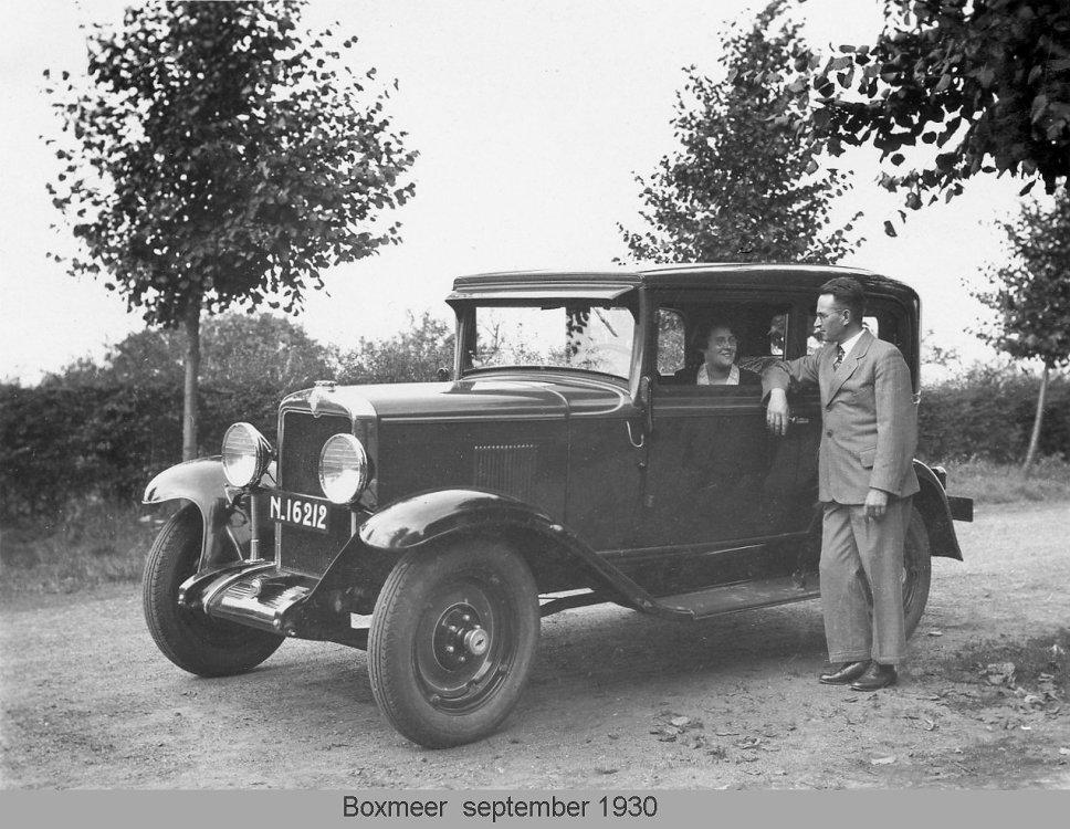 Boxmeer, 1930, Chevrolet Coach (Bron: Flickr / Wouter Duijndam)