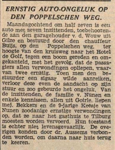 Bron: Dagbl. van Noord-Brabant, 28-6-1938