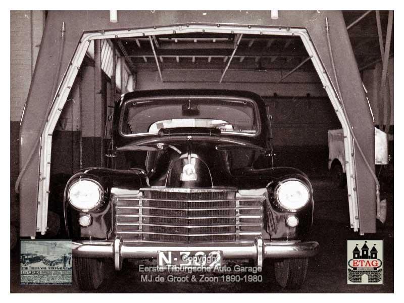 Vauxhall in de wasstraat (foto: Ad de Groot. Bron: coll. ETAG)