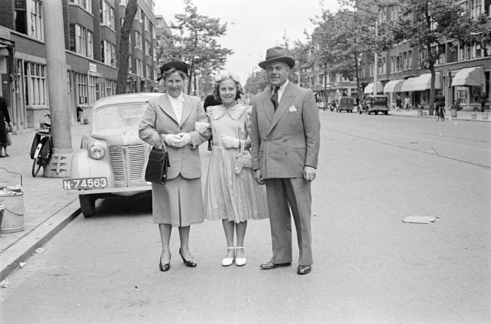 Rotterdam 1949 (foto: D. Scholte; coll. Stadsarchief Oss)