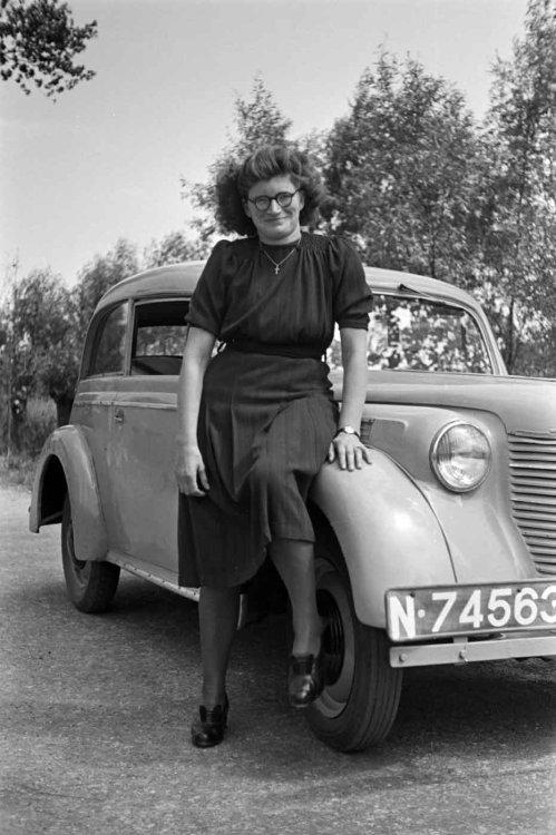 Megen 1949 (foto: D. Scholte; coll. Stadsarchief Oss)