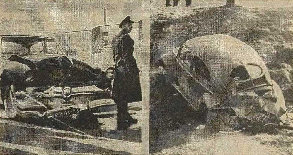 N-99152 Volkswagen (Prov. Zeeuwse Crt, 19 feb. 1955. Foto: © De Persgroep)